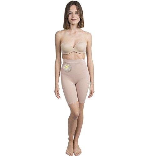 Shorty Push Up cosm�tico-textil colore: beige