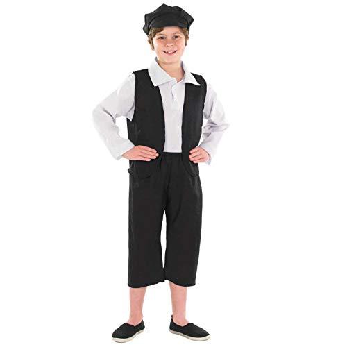 Fun Shack FNK2304M Kostüm, Boys, Victorian Boy, - Historische Kostüm