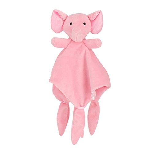 YeahiBaby Elefante Straccetto Doudou di neonati in Rosa