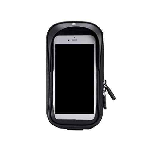 Zerama Fahrrad-Touch-Screen-Rahmen-Telefon-Beutel-Mountain Bike wasserdichte Lenkertasche vorne Rohr Smartphone GPS-Tasche