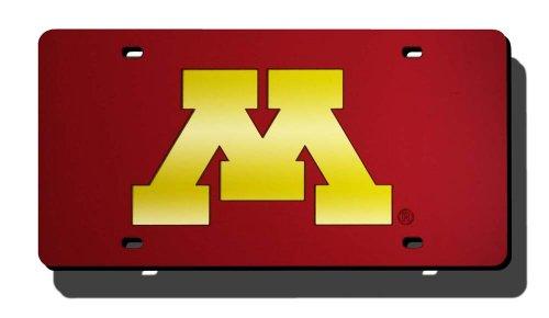 Unbekannt NCAA Laser geschnitten License Plate, LZC380102, Minnesota Golden Gophers (Gophers Minnesota Auto Golden)