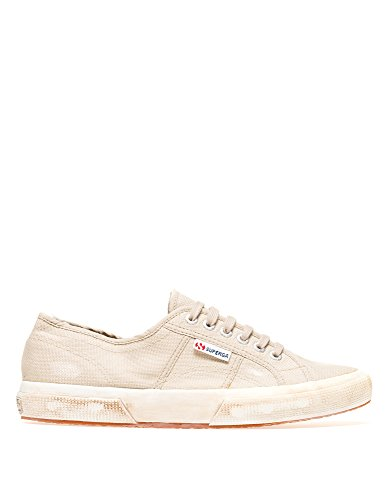 SUPERGA Mens 2750-Cotustonewash Mens Sneakers In Green 100% Cotton Gris(Taupe)