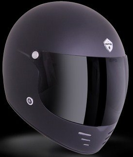 GPA casque integrale PURE noir mat, taille:XL