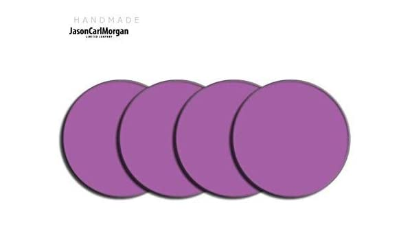 Purple JasonCarlMorgan JCM Alloy Wheel Centre Cap Badges fits SKODA HONDA MG CLR 57mm