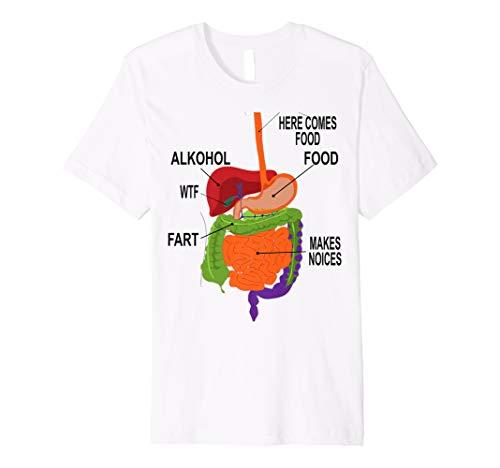 Anatomie Lustiges Witzig Fasching Karneval Kostüm Arzt Shirt