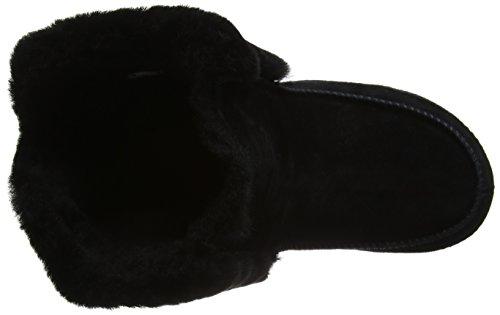 FitFlop Supercuff Mukluk, Bottes Classiques femme Noir