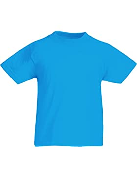 Fruit of the Loom - Camiseta para niño, Color Azul