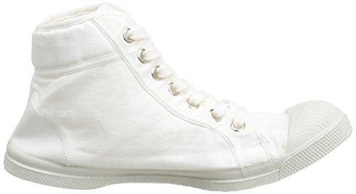 Bensimon Mid Femme Damen Sneaker Weiß - Blanc (Blanc 101)