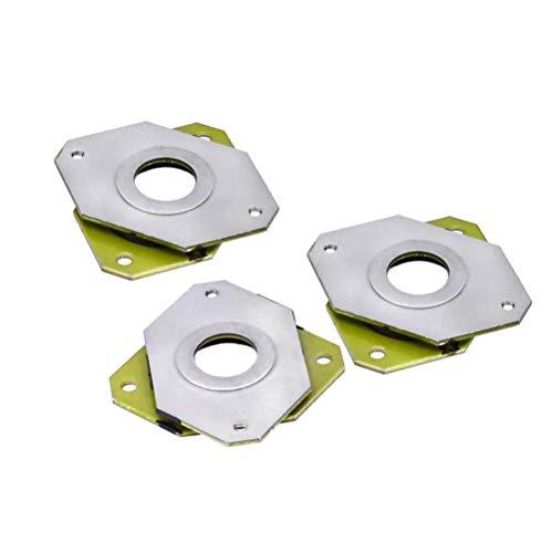 Zeelo 3pz motore passo-passo in acciaio e gomma ammortizzatore vibrazioni + 6pz m35mm viti per CNC, Nema 17stampante 3D (confezione da 3)