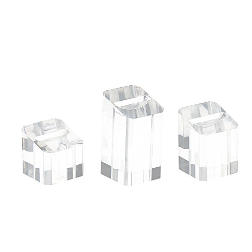 Display Finger Ring Ohrstecker Aufbewahrung Fall Inhaber Organizer (Finger-ring-display)