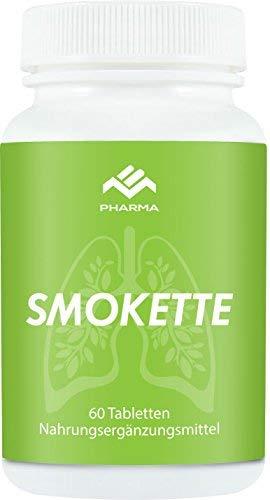 Smokette - Endlich Nichtraucher + Rezeptfrei von MB Pharma Health für 1 Monat