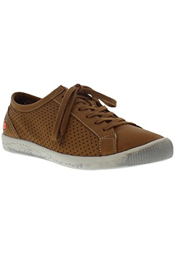 Softinos  Ica388sof, Sneakers Basses femme Camel/Beige