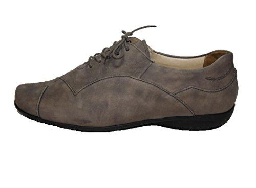 Solidus , Chaussures de ville à lacets pour femme Gris