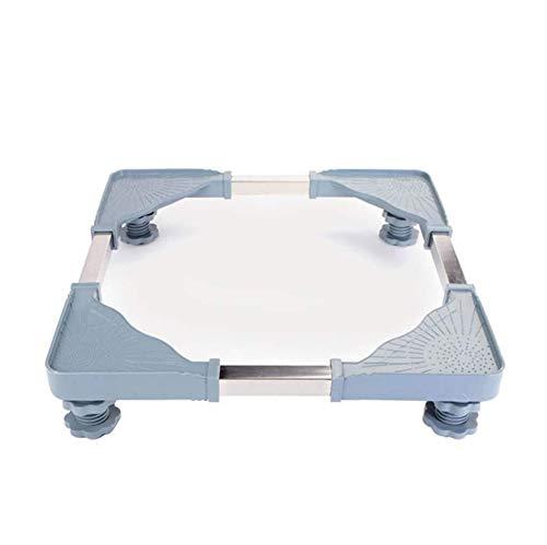 Tbagem-Yjr Verstellbarer Beweglicher Multifunktionssockel for Die Waschmaschine, Trockenfilter for Bodenwannen