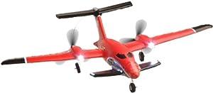 AirAce 3 AA3014  - P-180 Incluyendo la batería LiPo Vulcano, Rojo