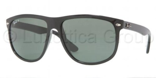 ray-ban-mens-rb4147-black-frame-green-polarized-lens-plastic-sunglasses-56mm