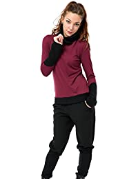 Pull polaire d'hiver de 3Elfen - made in berlin - Sweat Shirt - Manches Longues - Femme