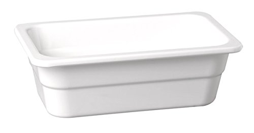 Profi GN-Behälter aus Melamin, stapelbar und spülmaschinenfest, extrem bruchsicher, Stapelnocke, glänzende/harte Oberfläche, mehrere Größen | SUN