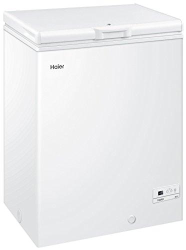 Haier HCE143R Autonome Coffre 146L A+ Blanc - Congélateurs (Coffre, 146 L, 13 kg/24h, SN-T, A+, Blanc)