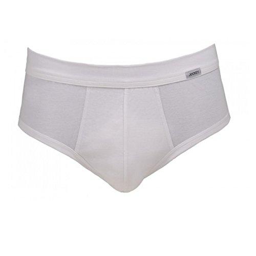 Jockey Slip Luxury Cotton High Rise Brief 2er Pack Weiß