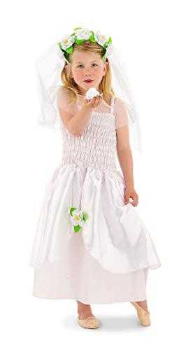 stüm für Mädchen 2-teilig Größe 116-134, weiß ()