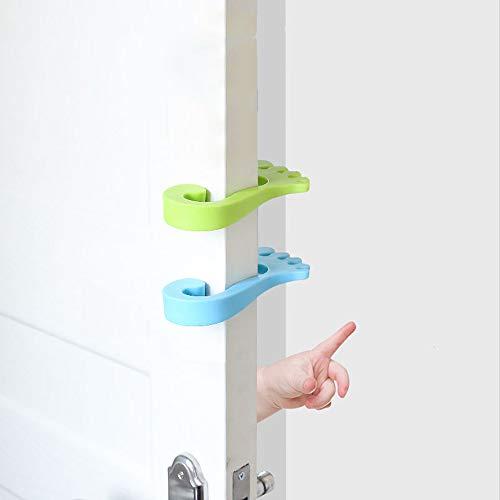 ip Tür Karte, Knöchel Stil Anti-Kollisions-Türstopper, Schlafzimmer Badezimmer Türstopper, Tür Wand Stoßdämpfer 3 Stück ()