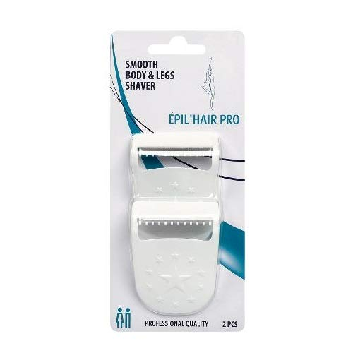 Epil hair pro Smooth Body & legs Shaver x 2 pcs