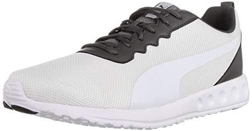 Puma Men's Carson Club Ii Idp Dark Shadow White Running Shoes-7 UK (40.5 EU) (8 US) (19319405_7)