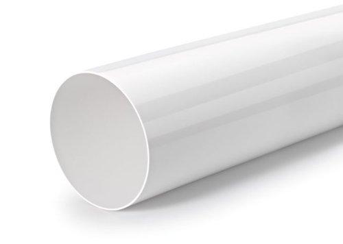 Naber Rohr 150 Rundrohr, lose, 500 mm lang, weiß
