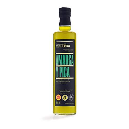 Aceite Oliva Virgen Extra Amarga Pica 500ml [Variedad