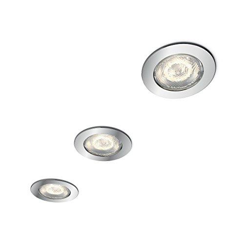Philips myBathroom Dreaminess Round Recessed LED Spotlight (3 x 4.5 ...