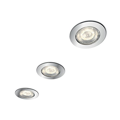 Philips myBathroom LED Badezimmer Einbauspot Dreaminess 3-flammig, rund, chrom (Dc-badezimmer-set)