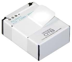 Batterie équivalent du modèle goPro aHDBT - 301 pour goPro hero3 hero 3 goPro hero3 éditions noir, & white silver edition