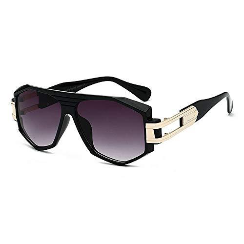 KOMEISHO Novelty Designer Shades Oversized Vintage Big Irregular Frame Sunglasses For Women Men UV Protection Colored Lens Outdoor Driving Travelling Summer Beach Fashion Accessories