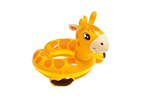Badetier Aufblasbarer Schwimmring für absoluten Badespaß / Tier Kopf / Tierkopf / ca. 56 cm Badespaß für Kinder / der ideale Badespass für Schwimmbad , See , Strand oder Bade ()