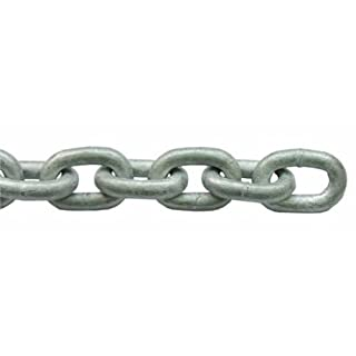 LALIZAS Heavy Duty Industrial Hot Dipped Galvanised Security Chain 10mm (10 Meters)