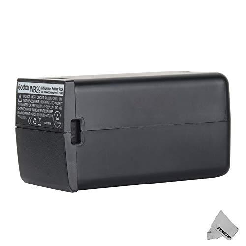 Godox WB29 batteria per unità flash tascabile Godox AD200 144V 2900mAh