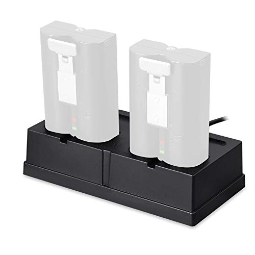 Charging Station compatible with the Rechargeable Batteries for Ring Spotlight Cam Battery, Ring Video Doorbell 2, Ring Stick Up Cam Battery HD, and Ring Door View Cam