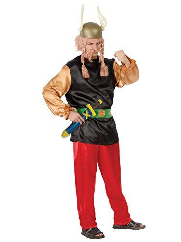 Gallischer Soldat Kostüm für Herren Gallier Kostüm Römer Comic Wikinger Gr. M, L, Größe:L
