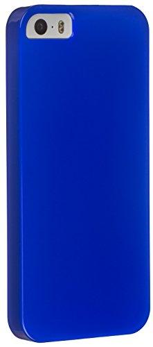 Trendz Hard Shell Schutzhülle Clip-On Case Cover Etui Schale für iPhone 5/5S/SE - Blau - Blauer 4 Case Iphone Glitter