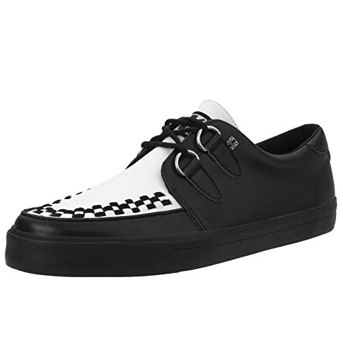 Vlk Sneaker T Leather Blackamp; White Eu45ukm11 kShoes Creeper u dQxBeWrCo