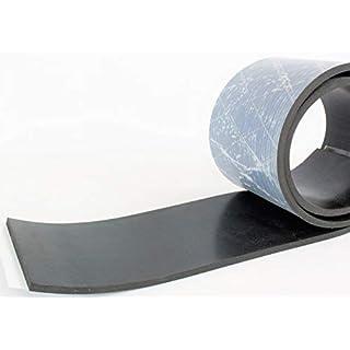 1500mm x 80mm x 3mm Gummistreifen - einseitig selbstklebend