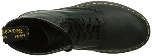 Dr. Martens 1460, Boots mixte adulte Noir (Black Greasy)