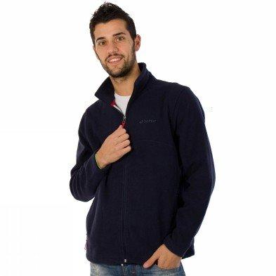 Lotto N3706 Jordan Pile Veste pour homme Bleu bleu marine Small