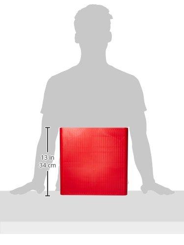 Mind Reader 'Hero' 36 Capacity Single Serve Coffee Pod Storage Drawer, Red