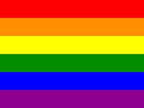 Flagge Regenbogen Rainbow Flag Gemeinschaft Gay, lesbische und Transgender 90x 150