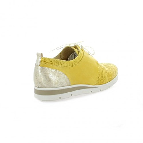 Pao Derby cuir jaune Jaune