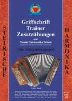 GRIFFSCHRIFT TRAINER - arrangiert für Steirische Handharmonika - Diat. Handharmonika - mit CD [Noten / Sheetmusic] Komponist: PAULI ERICH