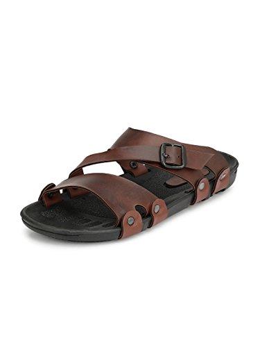 Fentacia Men Brown Sandals