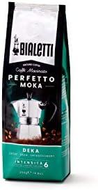 Bialetti Perfetto Moka Caffè Macinato Decaffeinato, Deka - 1 x 250 gr